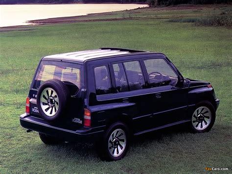 Escudo Suzuki Pictures Of Suzuki Escudo Nomade 1 6 1990 96 1024x768