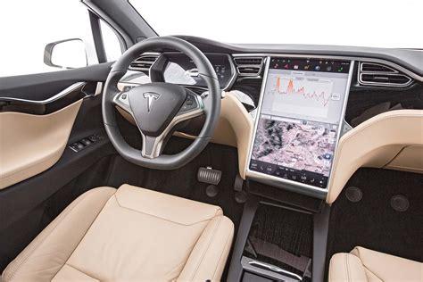 Tesla Model X Inside 2016 Tesla Model X 75d Test Review Motor Trend