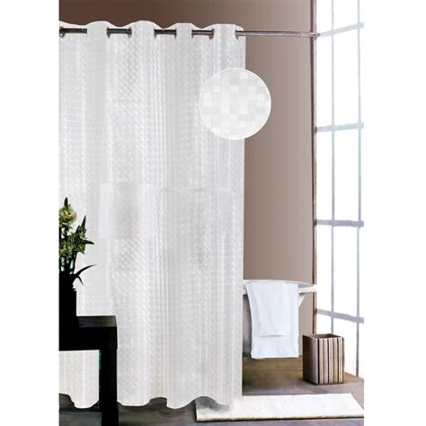 music shower curtain the ipad musical shower curtain hammacher schlemmer