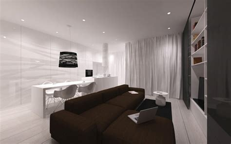 Minimalist Apartment by Minimalist Apartment In Poland Inspired By Scandinavian