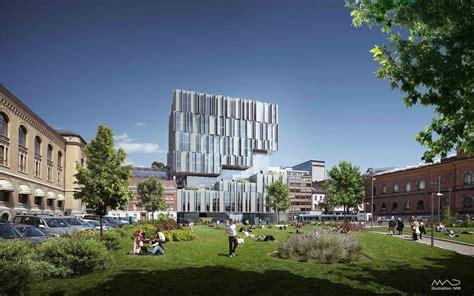 design engineer oslo uio tullinkvartalet new university building for the
