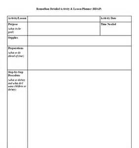 writing a lesson plan template ramadhan activity planner guide forms