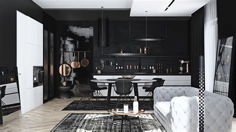 home style ideas 2017 brilliant 40 black home design design decoration of black