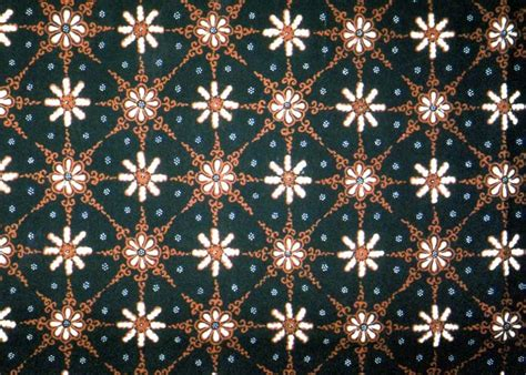 Batik Semi Motif Bunga belajar seni budaya motif batik nusantara