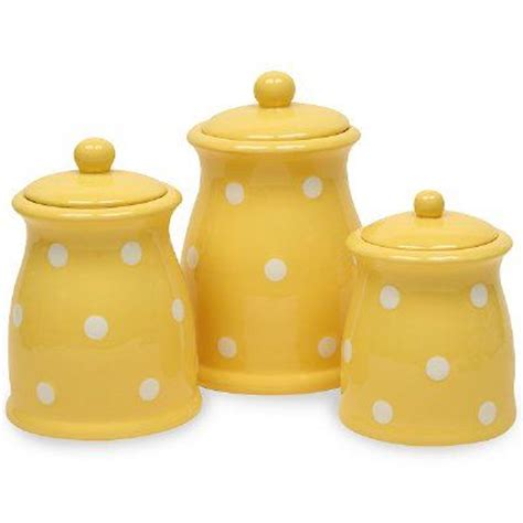 unique vintage kitchen canister sets ceramic canisters about yellow kitchen canisters about