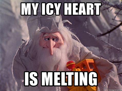 My Meme Generator - my icy heart is melting winter warlock icy heart meme