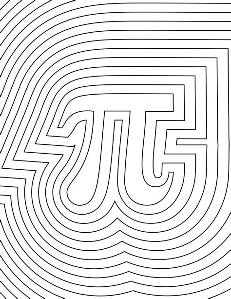 coloring pages of math symbols free coloring pages of pi day