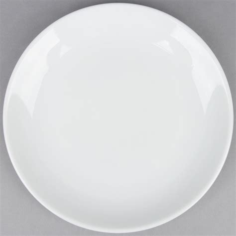 10 quot coupe plate bright white porcelain plate 12