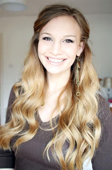 Tutorial Wavy Hair | princess wavy hair tutorial anna saccone joly