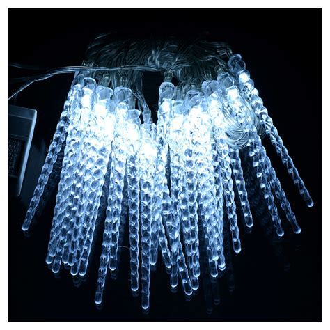 lights 24 led icicles programmable indoor