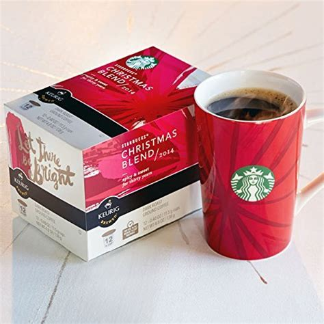 Starbucks 2014 Christmas Blend K Cups (12 cups) for Keurig Coffee Machines   5ive Dollar Market
