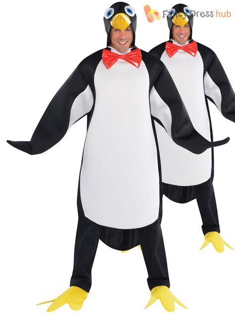 Dress Pinguin adults penguin costume mens animal fancy