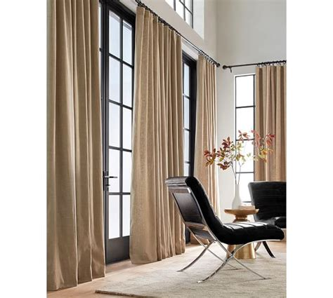 emery drapes emery linen cotton drape pottery barn