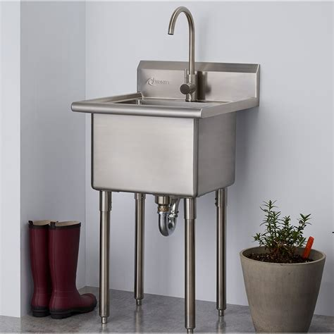 trinity     standing laundry sink  faucet