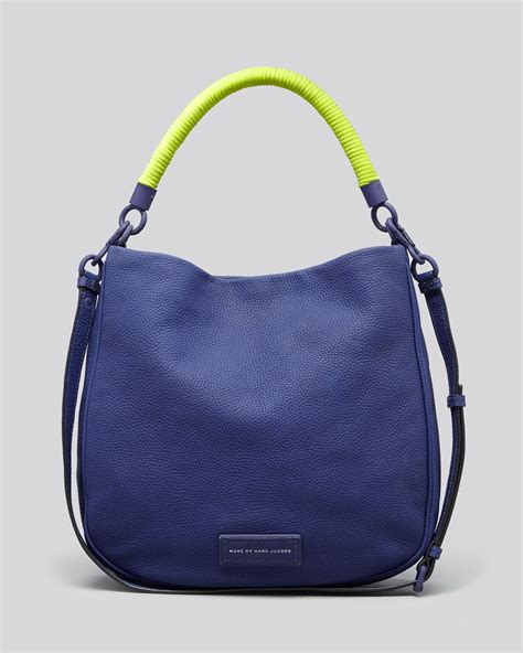 Marc By Marc Miss Marc Hobo by Marc By Marc Hobo To Handle In Blue