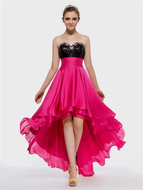 pink cocktail pink and black prom dress great ideas for fashion
