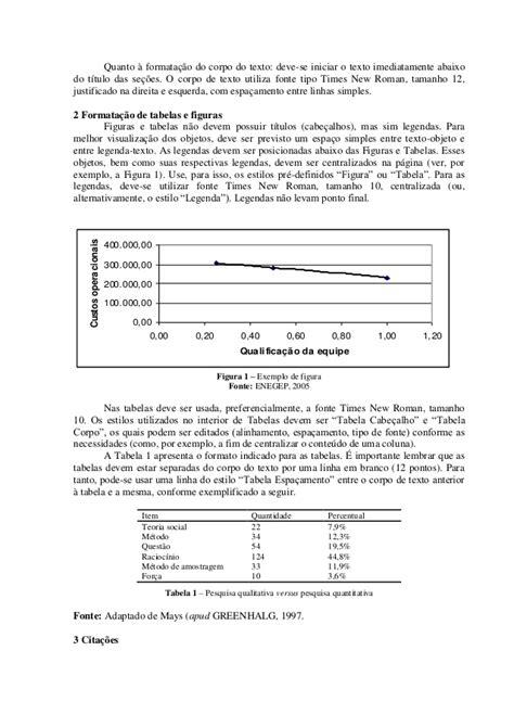 Modelo formatação artigo científico