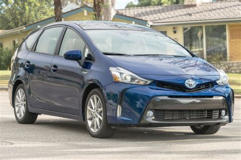 2016 Toyota Prius V Cargo Space Specs View Manufacturer Details