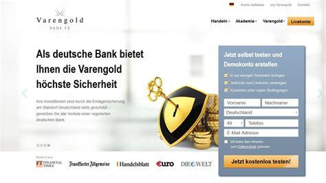 varengold bank varengold bank fx erfahrung test der broker im vergleich