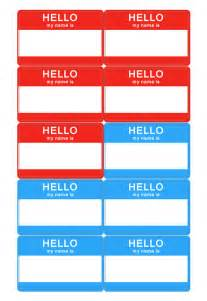 Template Name Badges by Name Tag Template Name Badge Templates