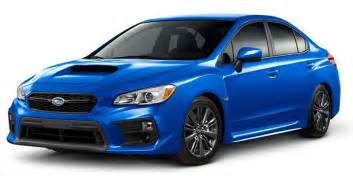 Subaru S Pricing 2018 Wrx Wrx Sti Subaru Canada