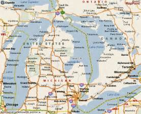 Road Map Of Michigan by Road Map Lower Michigan Pictures To Pin On Pinterest