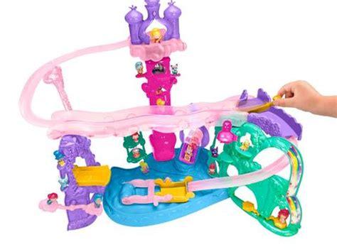 Shimmer And Shine Teenie Genies Masquerade Playset fisher price shimmer and shine teenie genies magic carpet