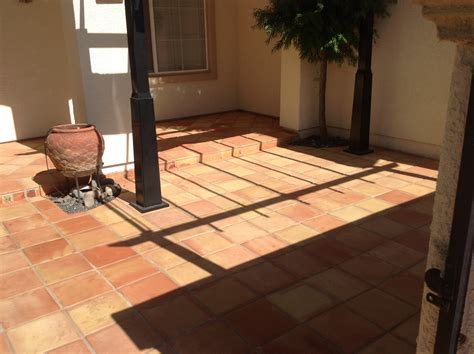 Superior Saltillo Tile Floor Refinishing & Restoration