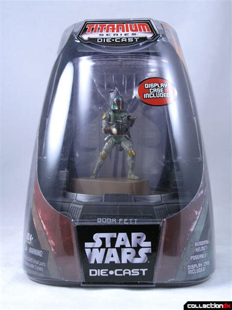 Wars Titanium Series Die Cast Boba Fett titanium die cast boba fett collectiondx