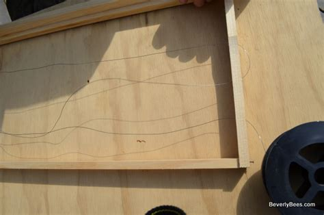 how to wire a frame a beginner beekeeper s guide
