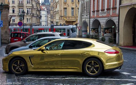 gold cars gold car saw this gold car in malastrana prague