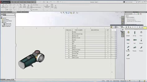 solidworks saving bom template youtube