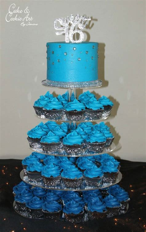 Sweet 16 Cakes by Sweet Sixteen Cakes Blue Www Imgkid The Image Kid