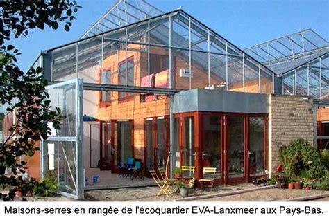 maison solaire passive avec serre pour pays froids - Serre Maison