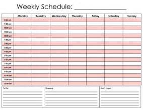 Hourly Weekly Calendar Template by Best Photos Of Hourly Calendar Template Printable Daily