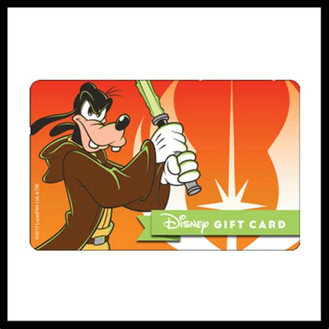 Star Wars Gift Cards - your wdw store disney collectible gift card star wars 2015 anakin goofy