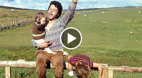 footage  paul mccartney singing   kids  surfaced   adorable society  rock