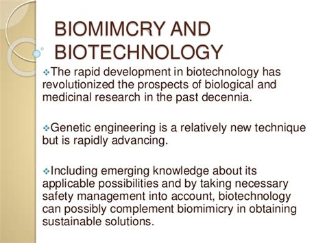 biomimicry the things you don t