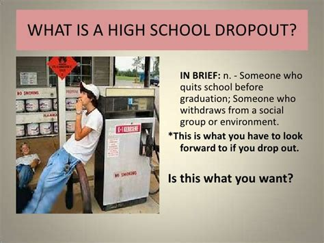 how to dropout of college dropout powerpoint presentation
