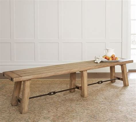 pottery barn dining bench benchwright dining bench pottery barn