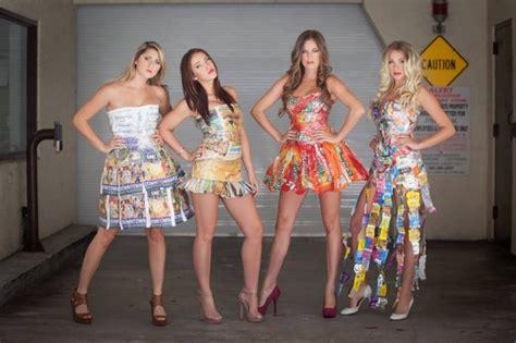 Garbage Clothing Brand Eco Friendly Designer Transforms Garbage Into Glamorous