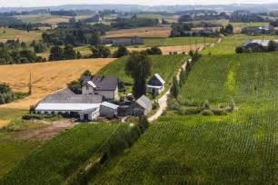 Banco de im 193 genes casa en campo rural y cultivos agr 237 colas vida