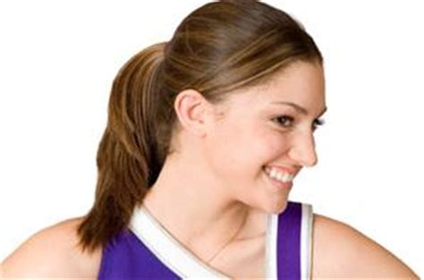 cheerleading hairstyles cheerleading hairstyles lovetoknow