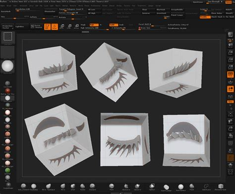 tutorial shadowbox zbrush 26 best ideas about zbrush hair on pinterest