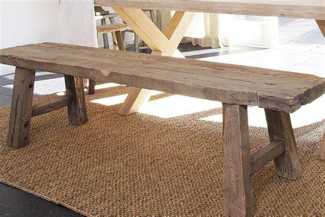 www tafel de bankje blok hout stoel meubels wonen nl