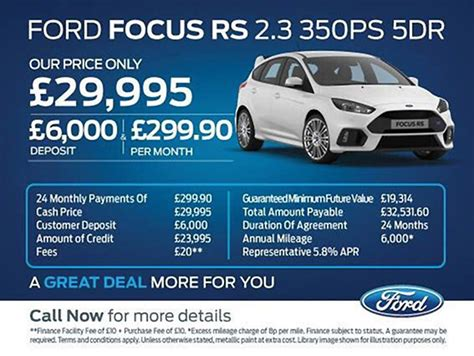 Ford Focus Rs Lease Deals Uk ? Lamoureph Blog
