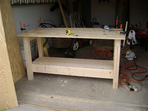 plywood work bench 302 found