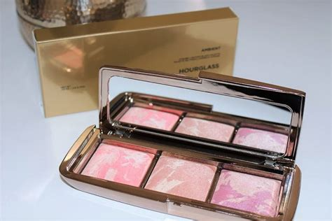 hourglass ambient strobe lighting blush palette hourglass ambient strobe lighting blush palette review