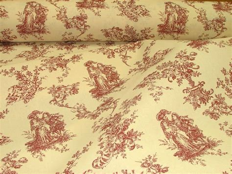 toile de jouy curtains uk red natural cream linen look toile de jouy curtain
