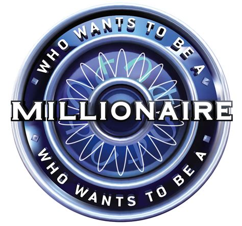 wants a who wants to be a millionaire logos